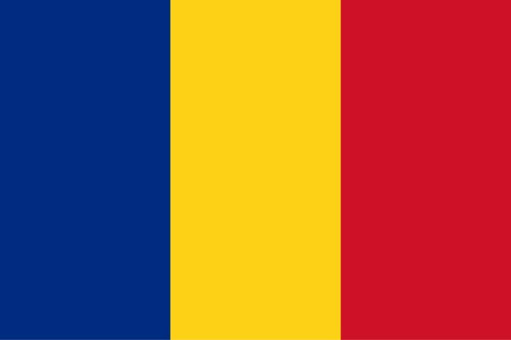 旗 ルーマニア