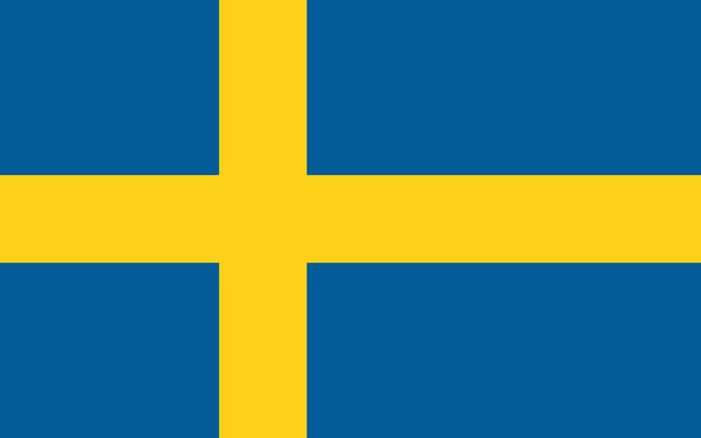 旗 スウェーデン